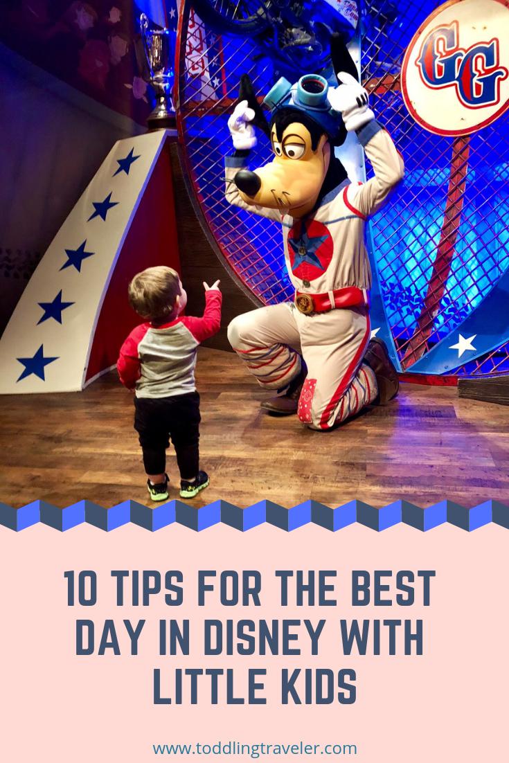 Disney with a Toddler Toddling Traveler