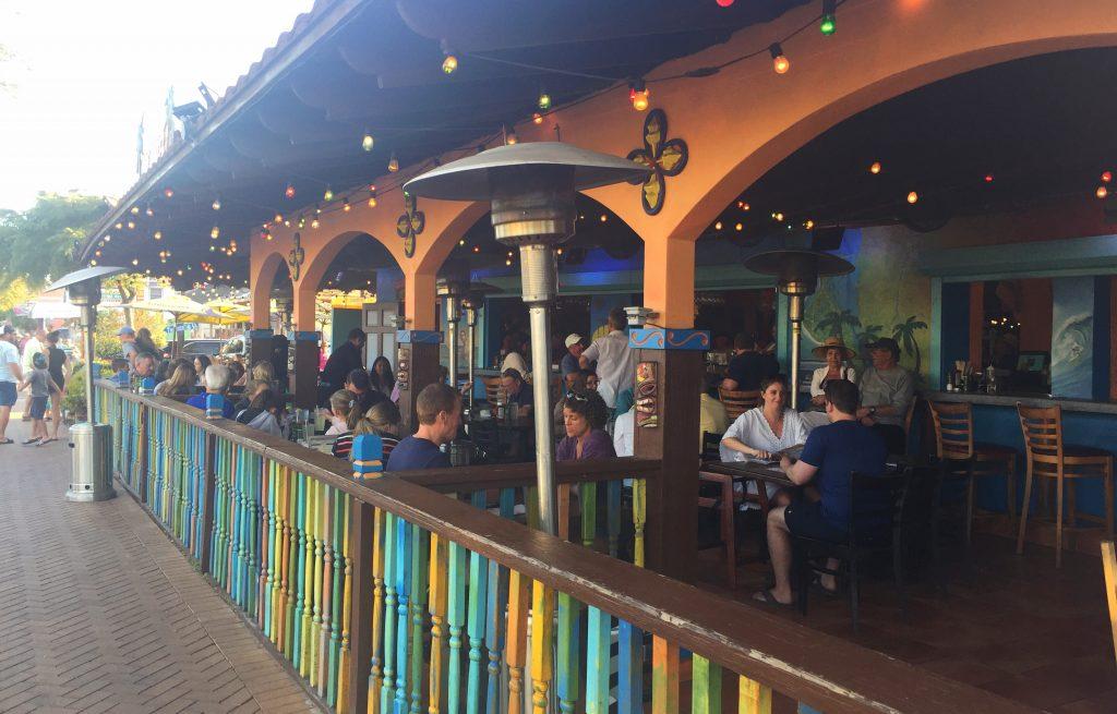 Hub Baja Grill Siesta Key Outdoor Dining Toddling Traveler