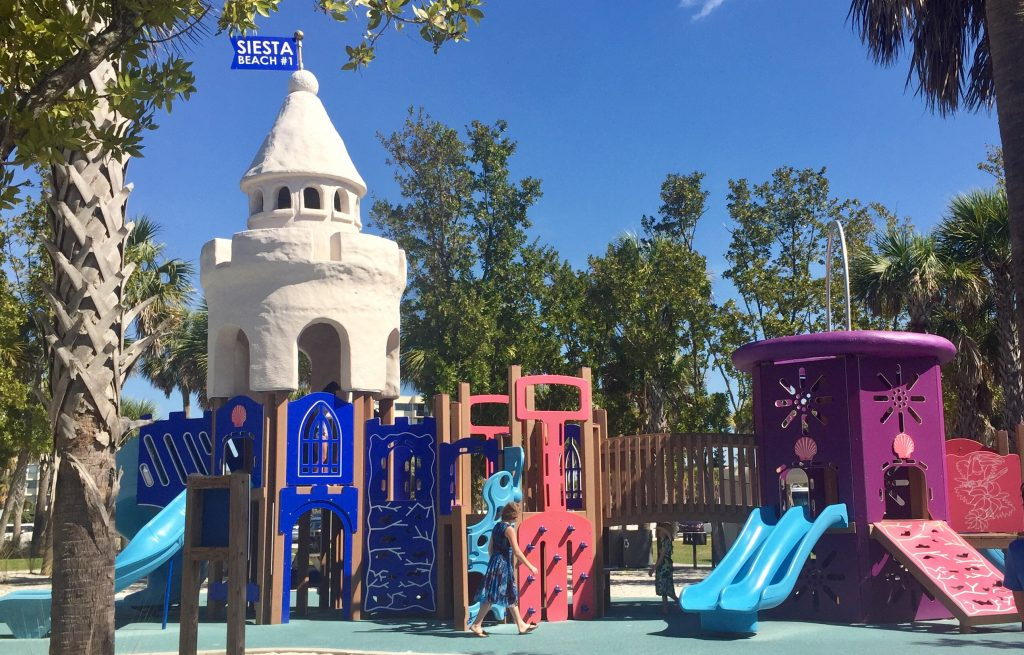 Siesta Beach Playground Sarasota with Kids