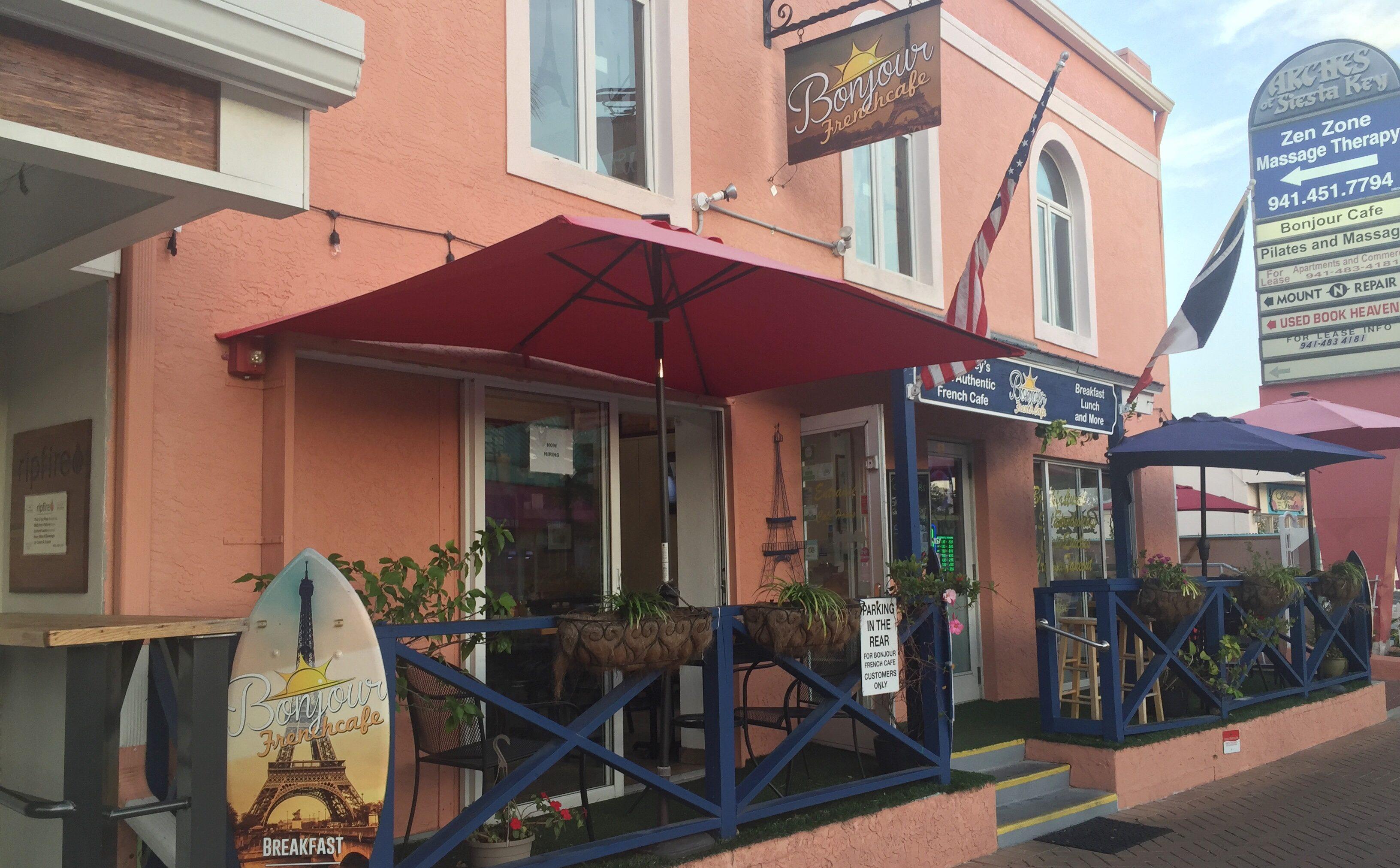Bonjour French Cafe Siesta Key Breakfast Kid-Friendly Places to Eat in Siesta Key Toddling Traveler