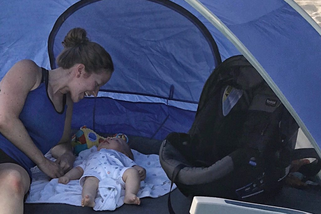 Beach with a Baby Best Baby Beach Tent Toddling Traveler