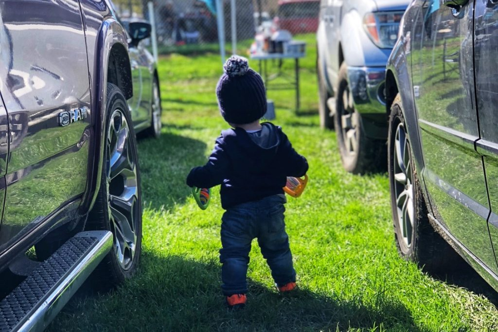 Tailgating with a Baby or Toddler at a Football Game Toddling Traveler