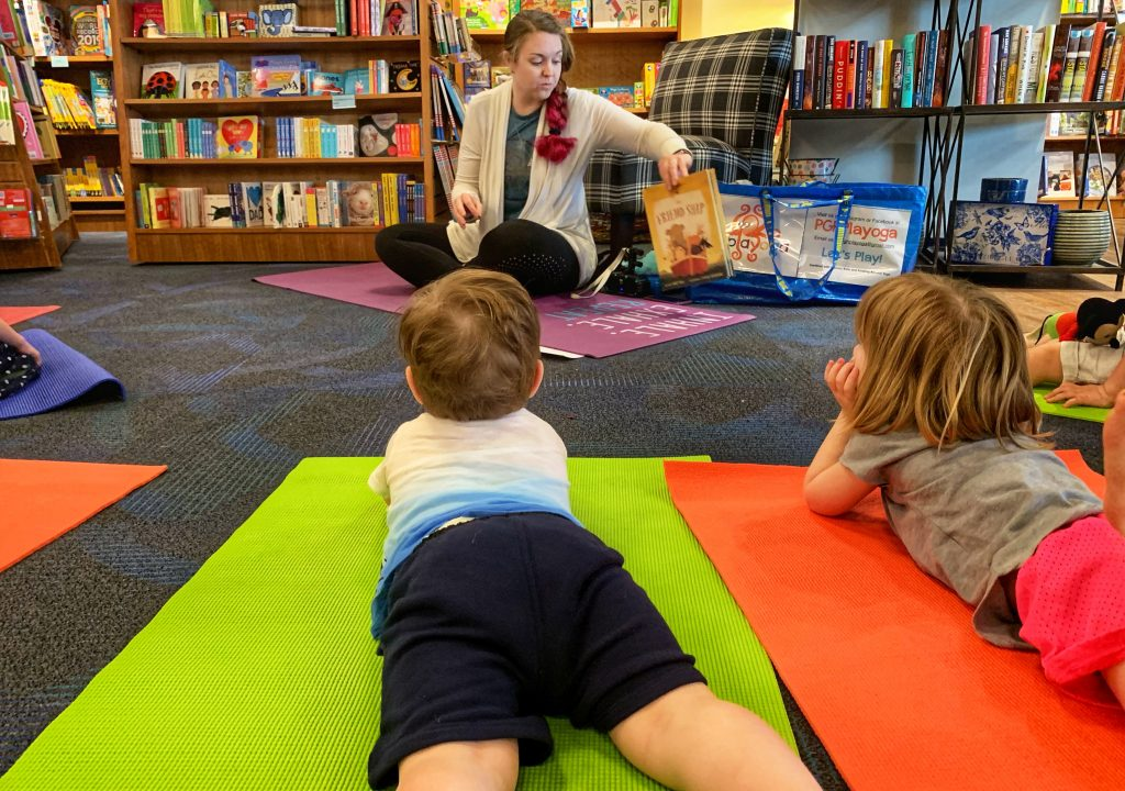 Riverstone Book Store Toddler Yoga Story Time Pittsburgh