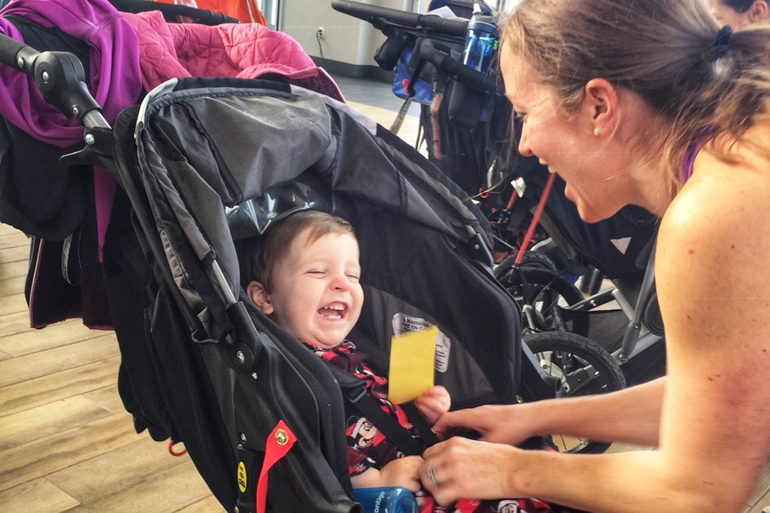 Fit 4 mom stroller workout mommy and me class Pittsburgh with a toddler Toddling Traveler
