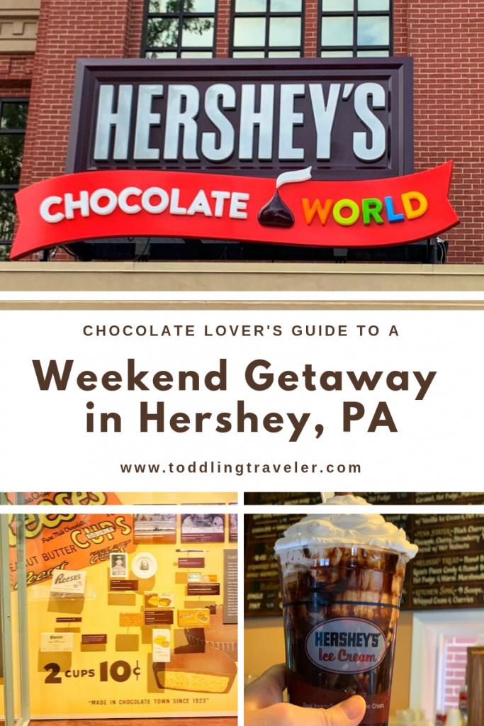 Weekend Getaway in Hershey with Kids Toddling Traveler
