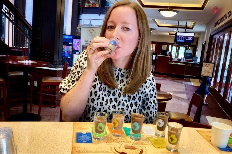 Hershey Story Chocolate Tasting Weekend Getaway in Hershey PA Toddling Traveler
