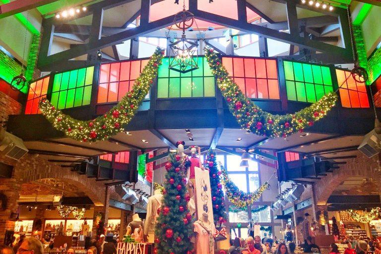 World of Disney Store in Orlando at Christmas Toddling Traveler