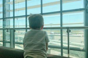 Heathrow Airport Priority Pass Lounge Terminal 5 London Layover with Kids Toddling Traveler
