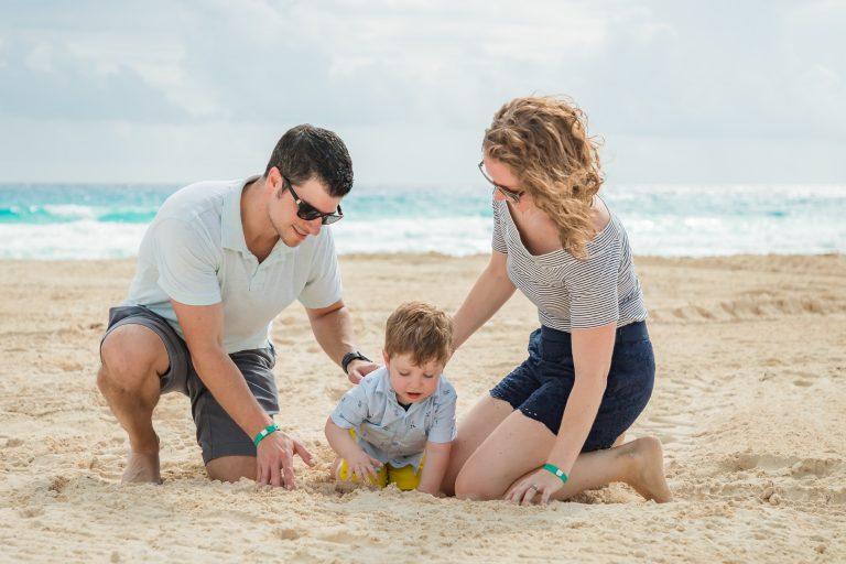 Cancun Beach Cancun vs Cozumel Toddling Traveler