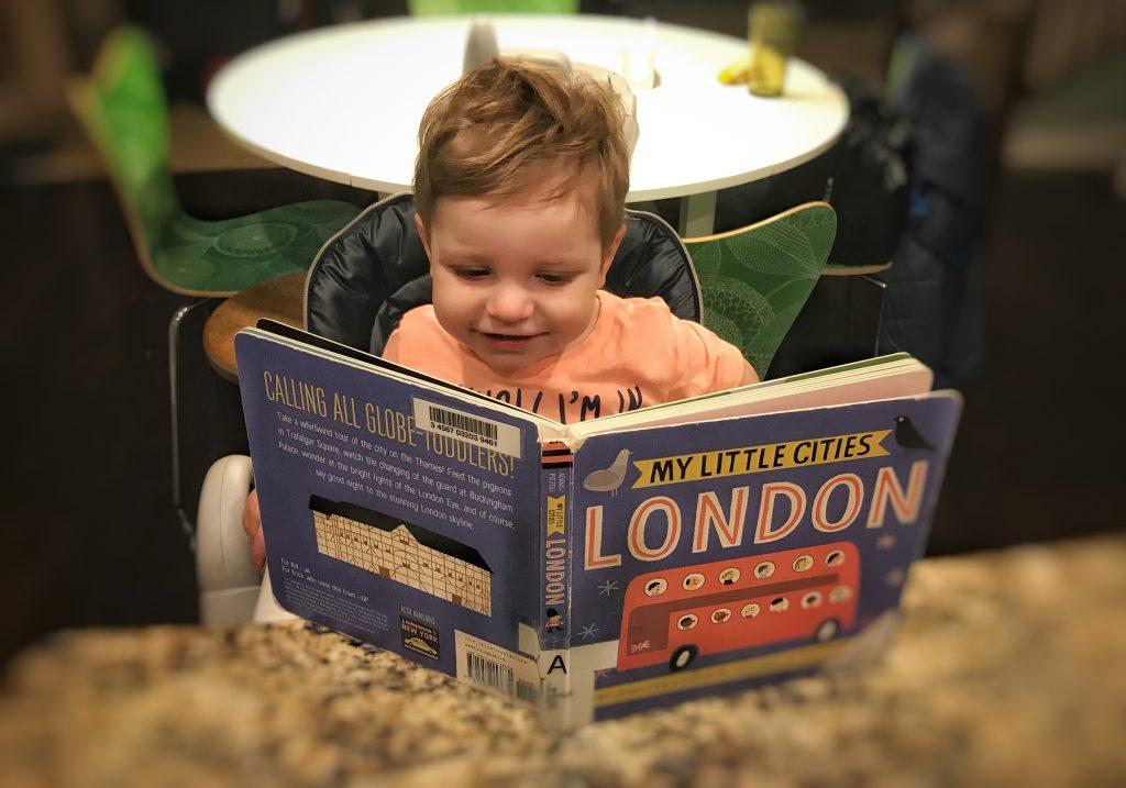 London Travel Books for Kids Toddling Traveler