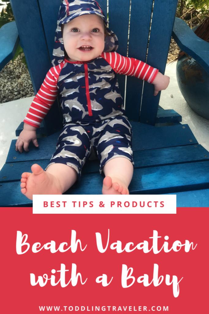 Beach Essentials for Baby Toddling Traveler