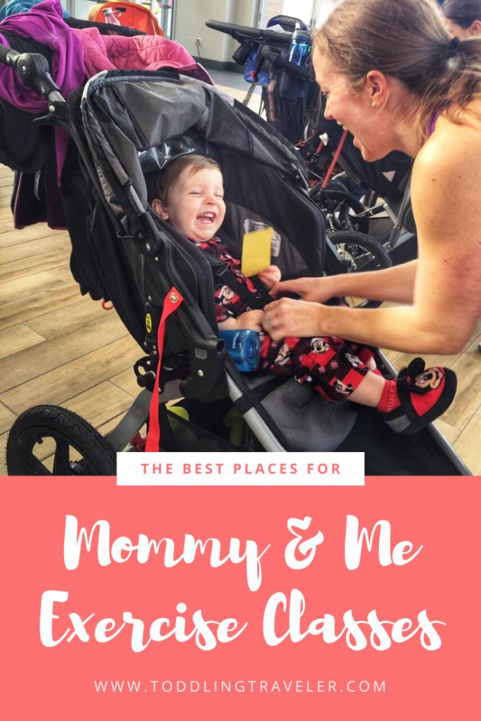 mommy me exercise classes Toddling Traveler