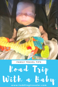 Road Trip with a Baby Toddling Traveler