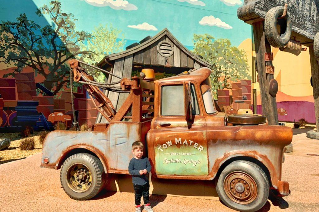 Best Disney Resort for Toddlers Disney Animation Resort Cars Family Suite Toddling Traveler