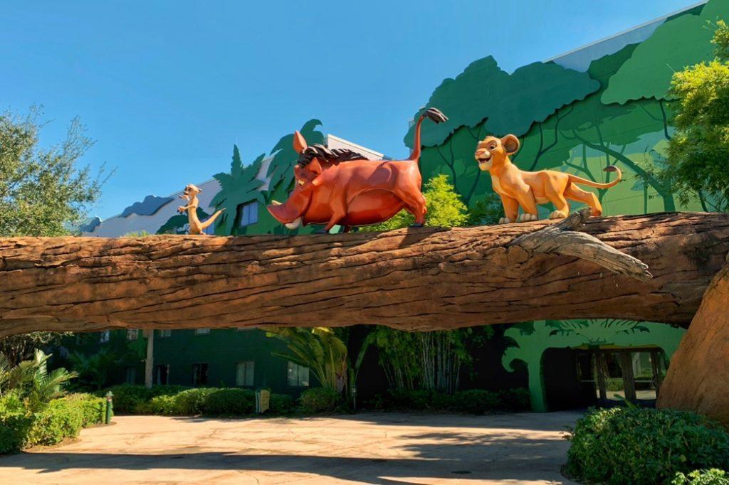 Lion King Disney Art of Animation Best Disney Resort for Toddlers Toddling Traveler