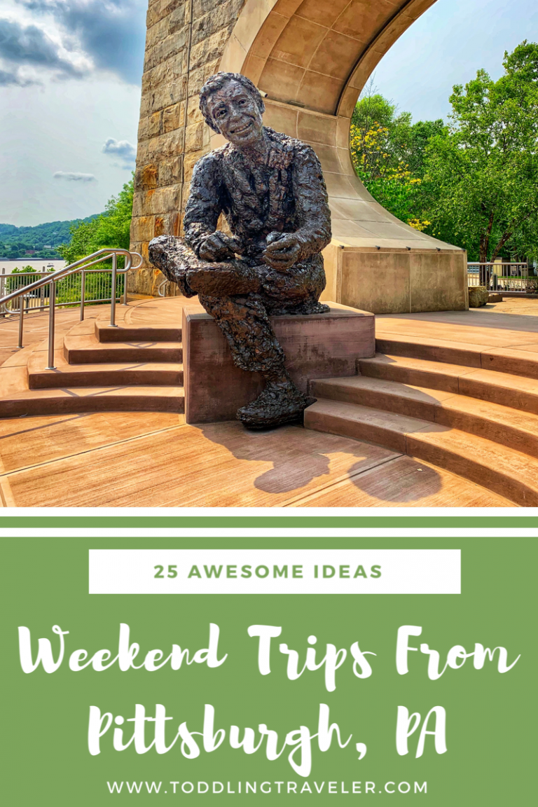 Weekend Trips from Pittsburgh PA Pinterest