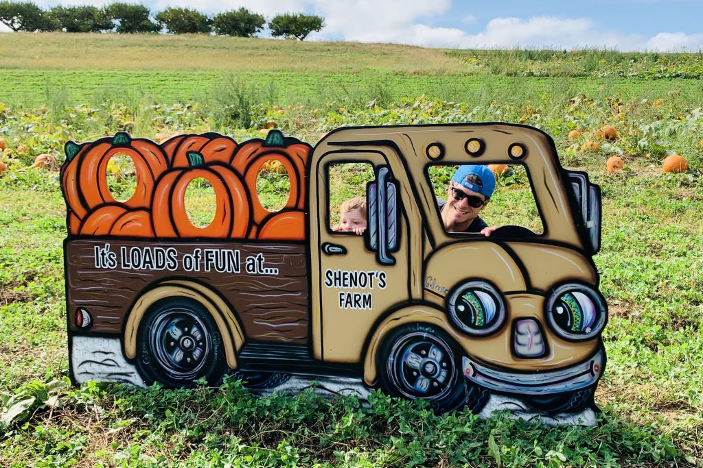 Shenot Farms Pumpkin Patch Fall Activities in Pittsburgh Toddling Traveler