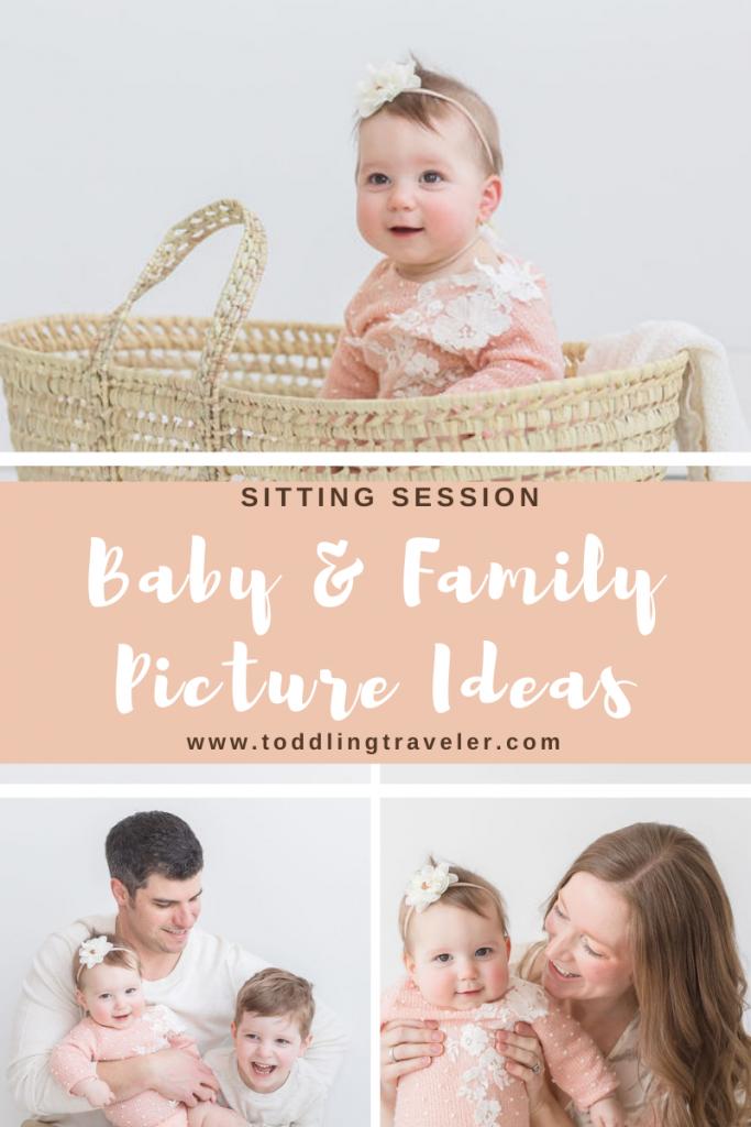 Baby picture ideas Pittsburgh Newborn Photographers Toddling Traveler