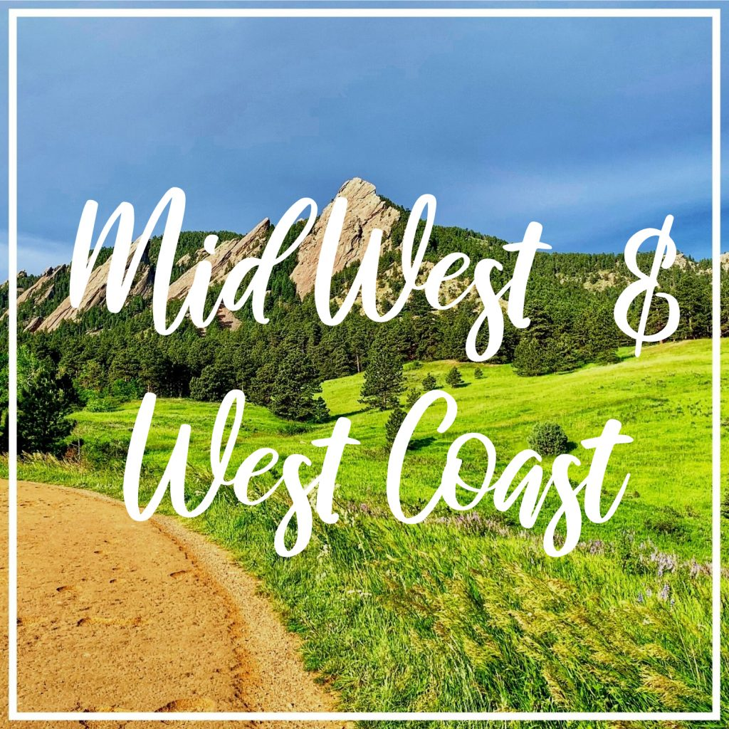 Midwest and west coast
