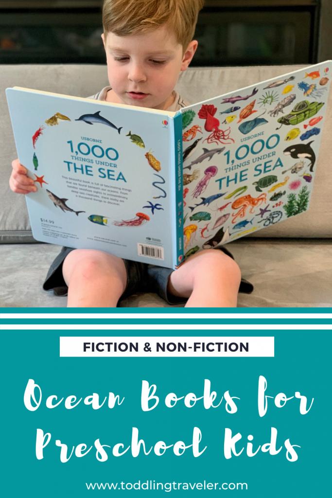 Beach Books for Preschool Kids Toddling Traveler