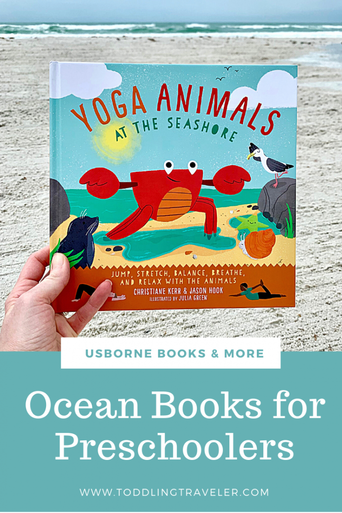 Beach Yoga Books for Toddlers