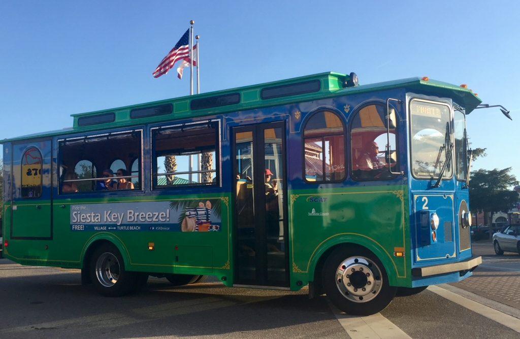 Siesta Key Trolley Toddling Traveler