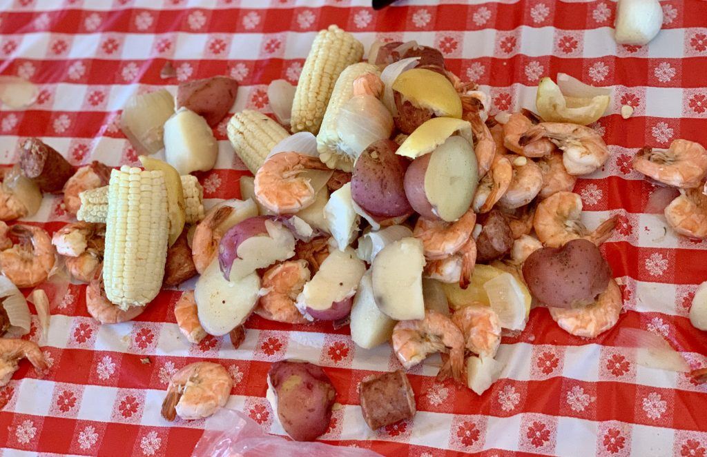 Outer Banks Seafood Boil OBX Seafood Toddling Traveler