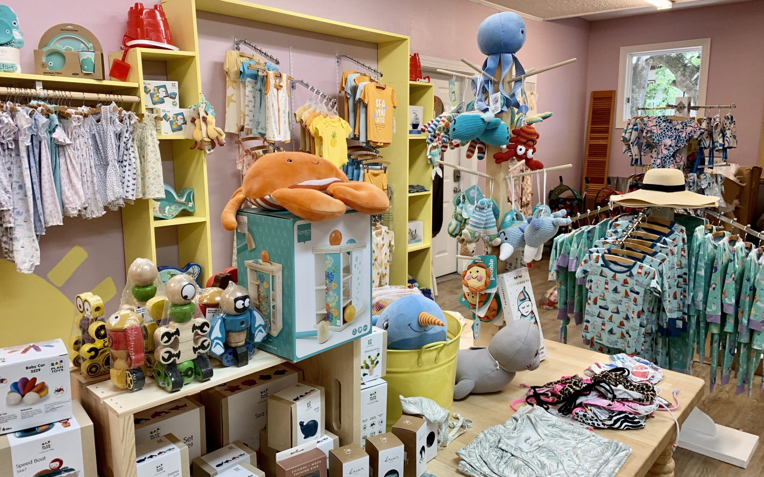Shopping in Duck NC Childrens Store Sandcastle OBX