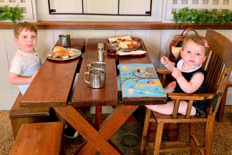 Kid Friendly Restaurants in Charlottesville VA Michies Tavern Toddling Traveler