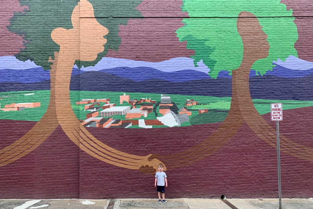 Murals in Charlottesville VA Toddling Traveler