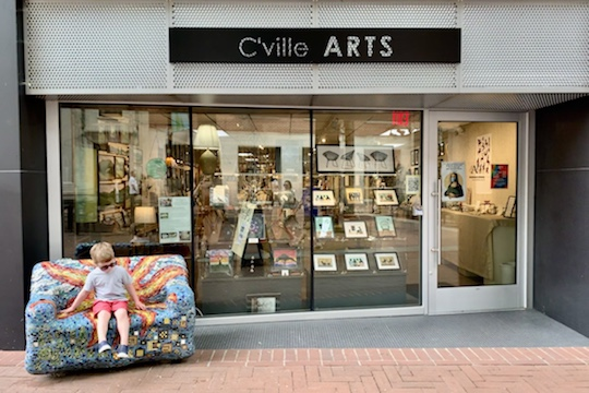CVille Art Gallery Downtown Charlottesville
