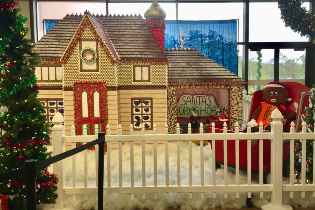Christmas at Hershey Chocolate World