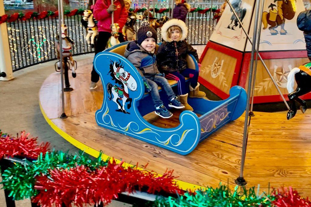 Hershey Park Christmas Candylane Rides